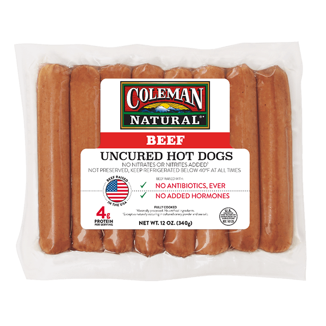 Beef Hot Dogs 12 oz. package